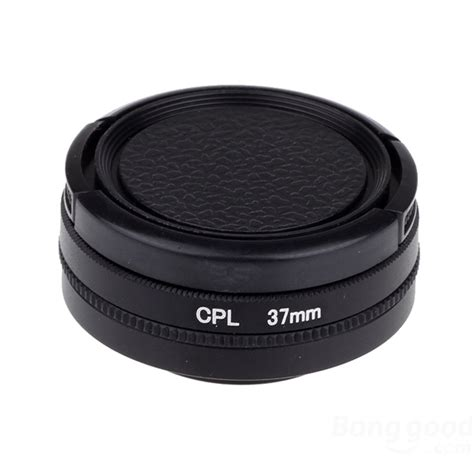 Uv Filter Lens 37mm With Cup Xiaomi Yi Lensa Kamera cpl uv filter lens accessory 37mm for xiaomi yi elevenia
