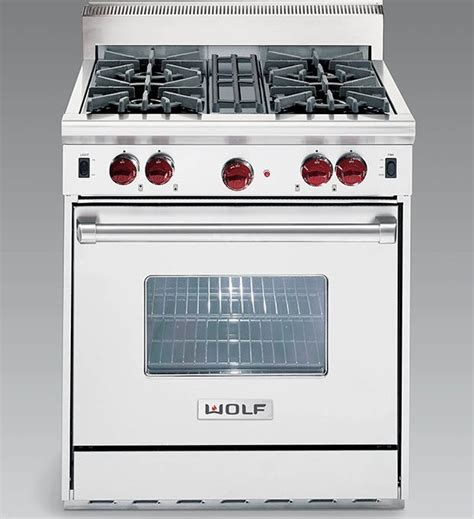 wolf model df304 caplan s wolf df304 lp 30 quot dual fuel range with 4 sealed burners liquid propane
