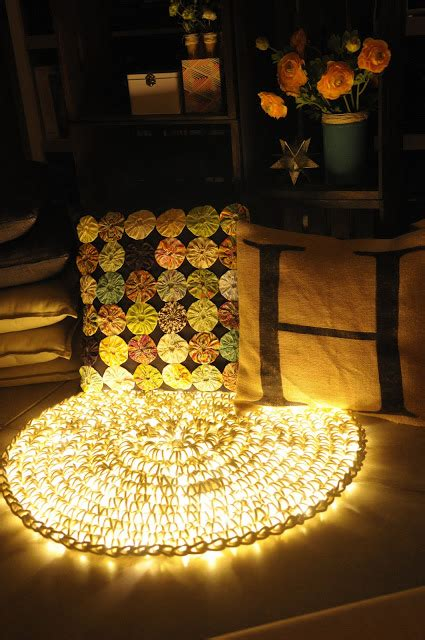 Rope Light Crochet Rug by Crochet Plus Led Rope Light Equals One Cool Rug
