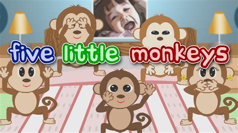 five little monkeys jumping on the bed youtube five little monkeys jumping on the bed song noodle kids
