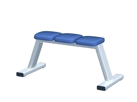 modells weight bench weight training bench 3d model 3dsmax files free download