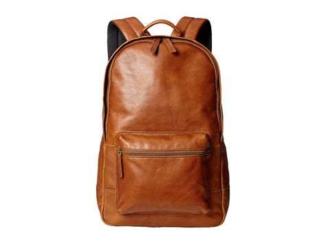 fossil backpack by fossil fossil estate leather backpack at zappos