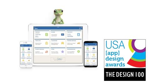 app design awards 2015 geico mobile wins in 2015 app design awards usa news