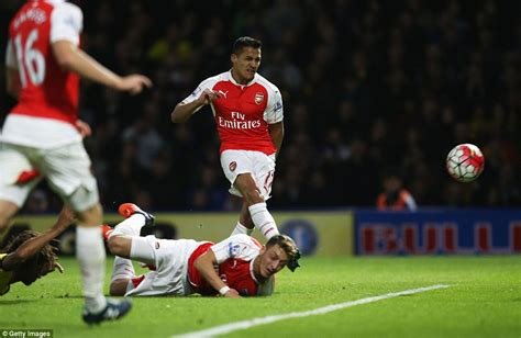 alexis sanchez how many goals for arsenal watford 0 3 arsenal alexis sanchez continues streak with
