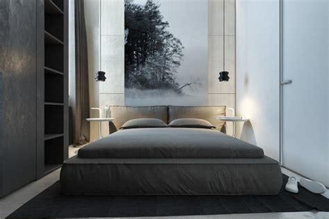 dark themed interiors  grey effectively  interior
