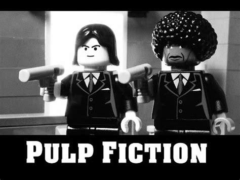 Pulp Fiction Memes - lego pulp fiction say what again i dare you i double