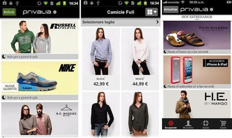 privalia mobile privalia mobile tu club privado de compras para android e ios