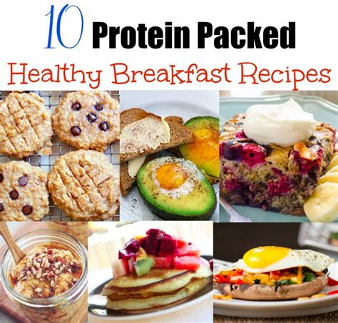 protein for breakfast protein packed healthy breakfasts