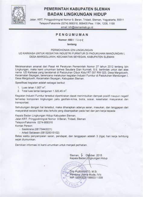 Lu Emergency Untuk Industri pemerintah kabupaten sleman 187 archive 187 pengumuman