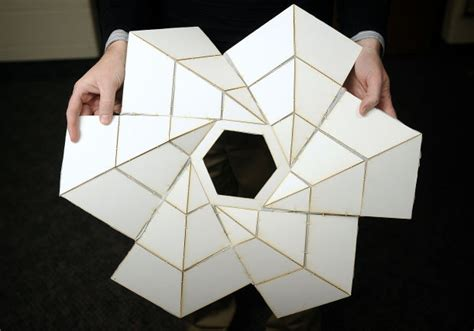 Space Origami - photos byu engineers use origami for space projects