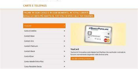 banco di credito popolare carte di credito banco popolare carta cento per cento