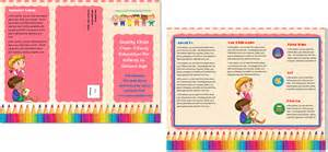 Preschool Brochure Template by Doc 500310 Sle Preschool Brochure Preschool
