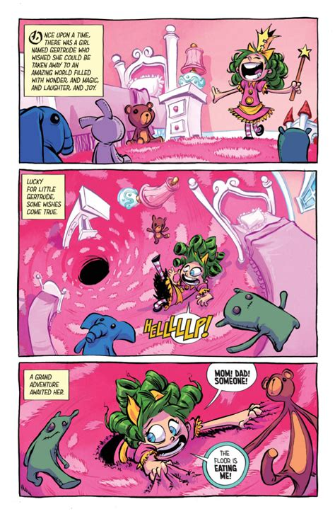 Fairy Bedroom Ideas skottie young on the process and princesses of i hate
