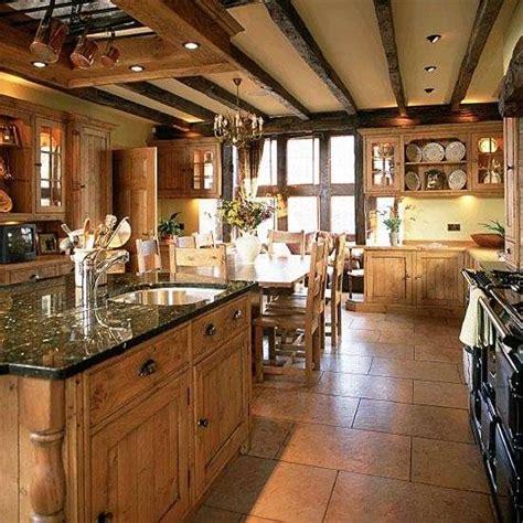 diversi tipi di legno cucine stile country foto design mag