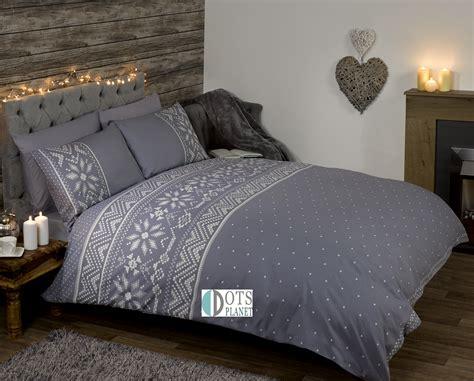 Art Comforter Pościel świąteczna Art Nordic Grey Dotsplanet Sklep Z