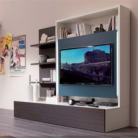 mobili soggiorno legno smart living l mobile soggiorno in legno con 3 mensole