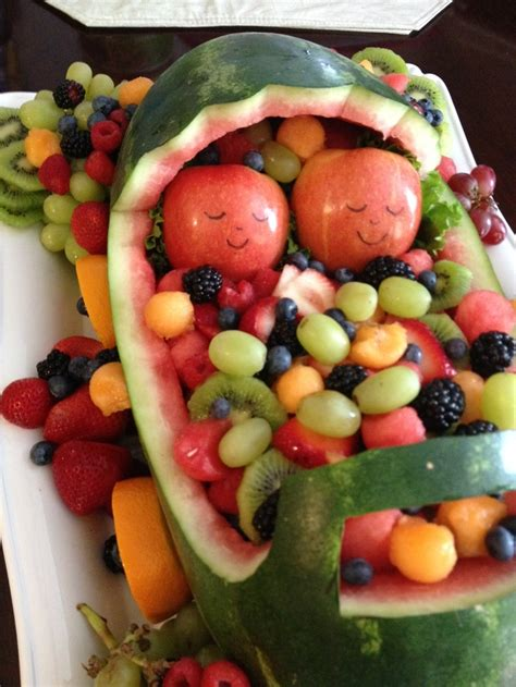 Baby Shower Fruit Tray by 39 Best Images About Baby Shower Fruit Tray Ideas On
