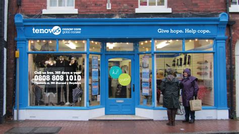 small apparel go shopping with tenovus cancer care