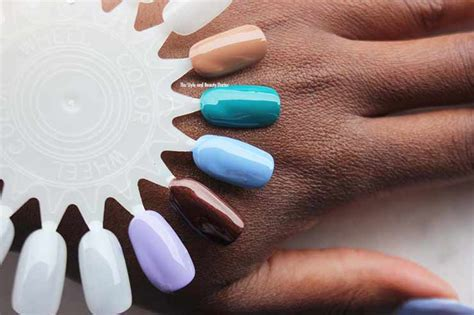 good gel polish colors for women over 60 best nail polish colors for dark skin tones summer