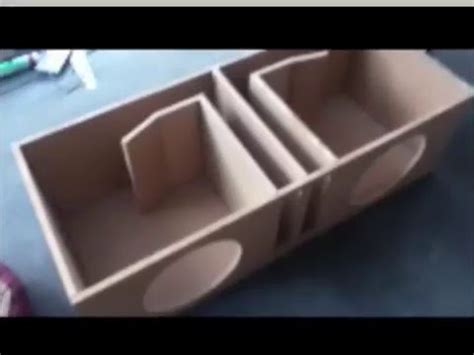 dual 12 inch ported subwoofer box w/ commodoresubwoofers