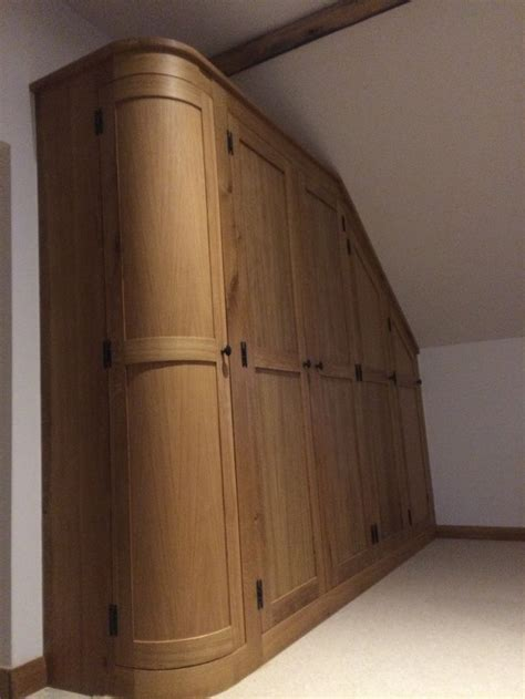 Curved Wardrobes by Curved Cupboards Create A Softer Feel To This Wardrobe
