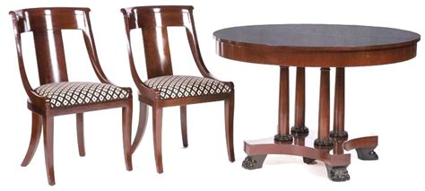 baker palladian dining chairs furniture suite dining regency style baker furniture