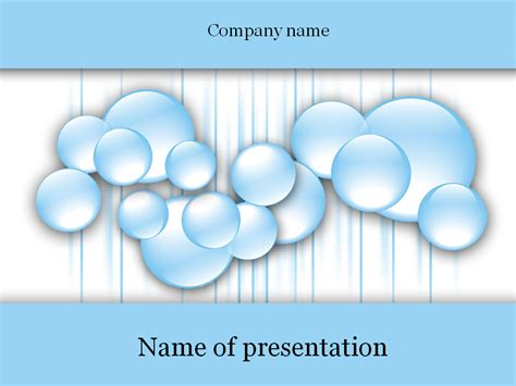 Powerpoint Templates Free Bubbles | download free water bubbles powerpoint template for