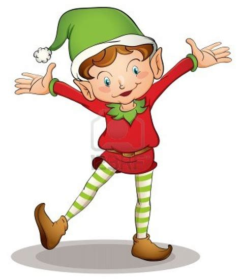 cartoon elf clipart  clip art