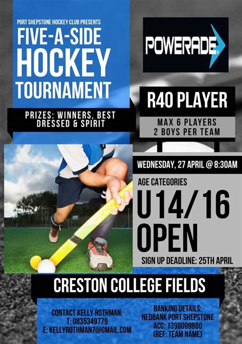 Hockey Tournament Giveaways - young south coast hockey players looking forward to annual tournament ehowzit