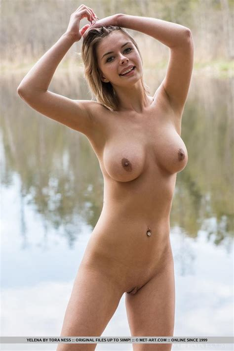 Busty Teen Yelena Gets Naked Outside In Crenca Coed Cherry