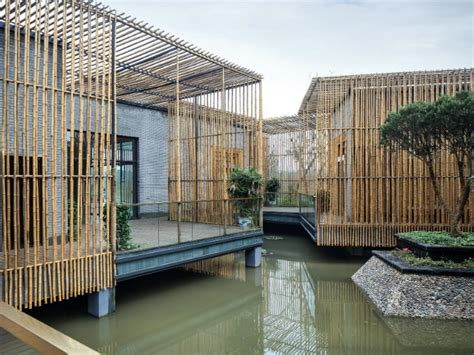 HWCD?s Floating Bamboo Courtyard Teahouse is a Zen Space