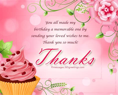 best wishes to you the one thank you message for birthday wishes on