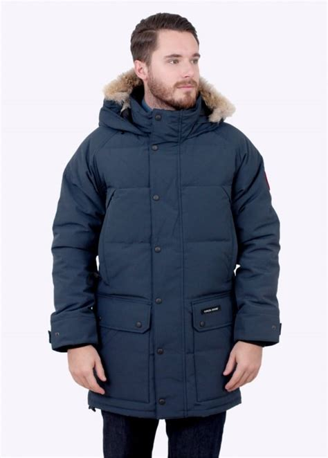 canada goose stockist emory ink canada goose emory parka ink blue triads mens from