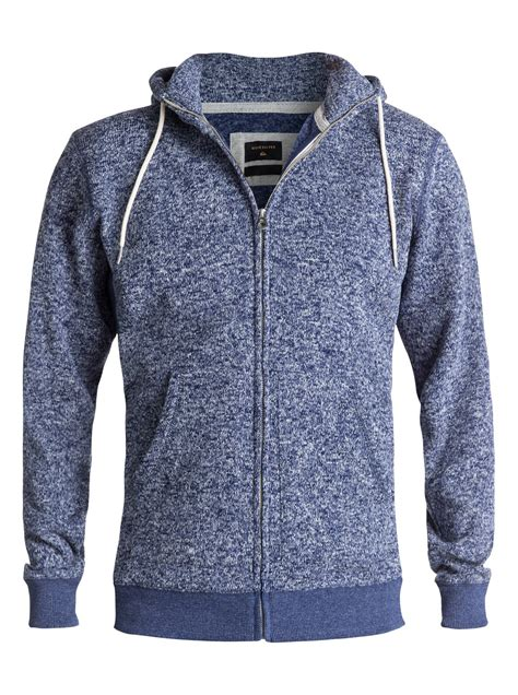 keller zip up polar fleece hoodie eqyft03661 quiksilver