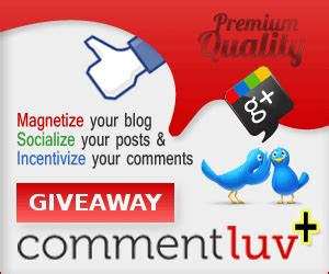 win commentluv premium giveaway were you the lucky