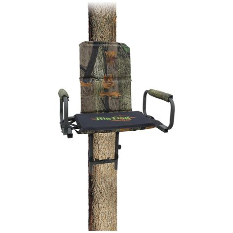 hang on treestand replacement seat big 174 deluxe tree seat camo 137910 hang on tree