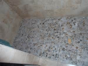 Pebble Tile Pacific Tile Of Alaska Pebble Shower Floor