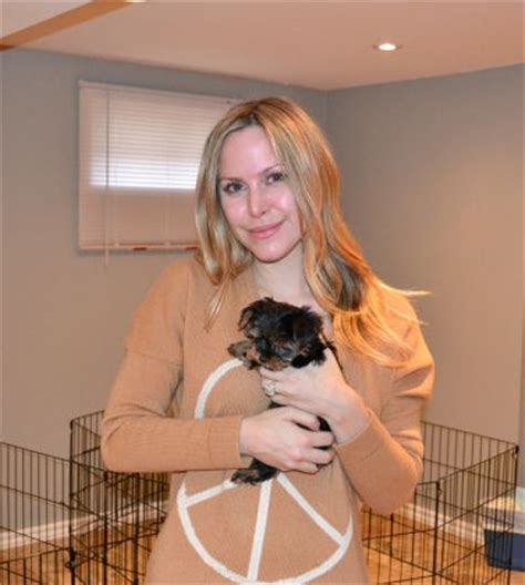 LEAH MILLER: Much Music, So You Think You Can Dance Host, E Talk Host   Tiny Toy Morkie Puppy