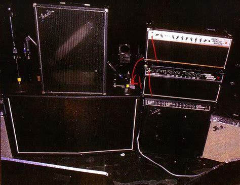 guitar gear equipment rigs  setups   favorite guitarist
