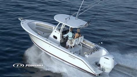 pursuit boats pursuit boats youtube