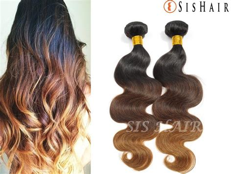 remy wave hair extensions 1 bundle 8a ombre remy hair wave t1b 4 30