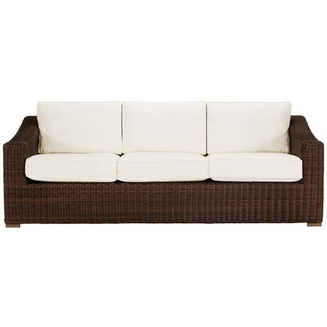 city furniture canyon3 dk brown outdoor living room set city furniture canyon3 dk brown sofa