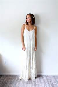 Galerry casual cream maxi dress