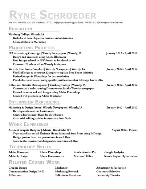 free resume templates 2017