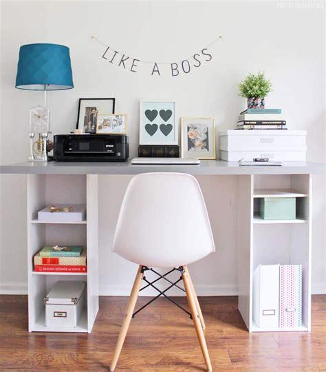 ikea hack desk with storage shelves pretty providence