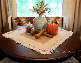 Dining Table Vignettes Organized Clutter An Autumn Dining Table Vignette