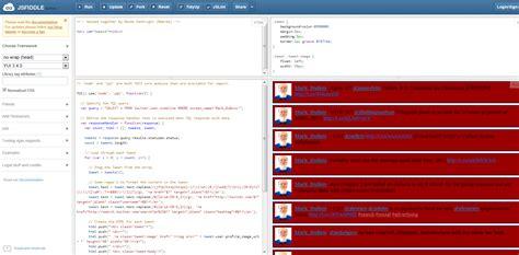 javascript tutorial jsfiddle jsfiddle exles
