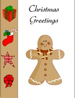 free printable christmas card with gingerbread man free printable christmas card with gingerbread man