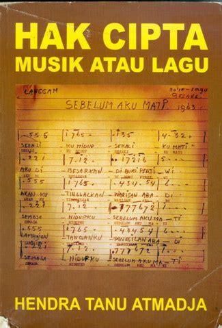 Buku Hak Cipta Dan Perlindungan Folklor Di Indonesia hak cipta musik edi tor siojo