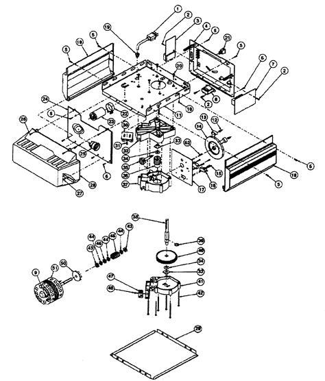 Genie Ac Chain Belt Drive Gdo Motor Assy Parts Model Genie Garage Door Opener Parts Diagram